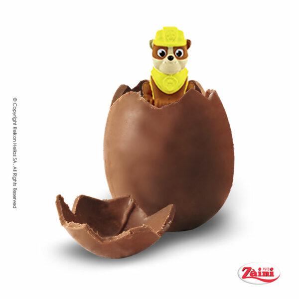 Σοκολατένιο αυγουλάκι Paw Patrol και μικρή φιγούρα.