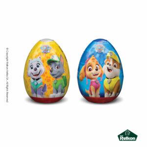 Paw Patrol αυγά σοκολάτας γάλακτος με δωράκι έκπληξη.