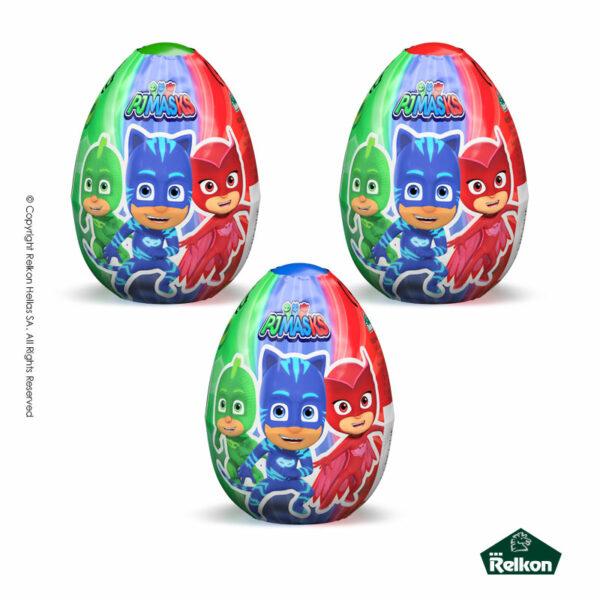 PJ Masks αυγά σοκολάτας γάλακτος με δωράκι έκπληξη.