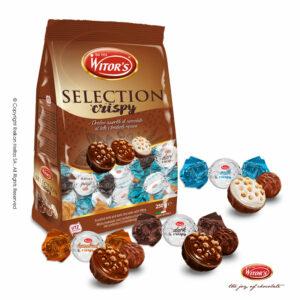 Ανάμεικτη συσκευασία με τυλιχτά σοκολατάκια με 3 διαφορετικούς μοναδικούς συνδυασμούς