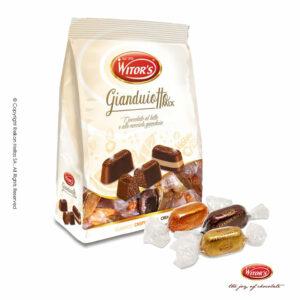 Ανάμεικτη συσκευασία με τυλιχτά σοκολατάκια με 3 διαφορετικούς συνδυασμούς
