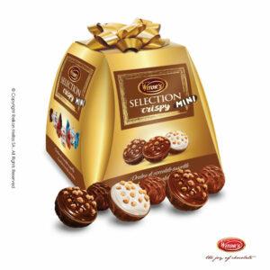 Witor's συσκευασία με τυλιχτά σοκολατάκια σε 3 διαφορετικούς συνδυασμούς (κρέμα φουντουκιού, κρέμα κακάο & κρέμα γάλακτος). Το τέλειο δώρο για κάθε περίσταση.