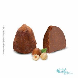 Τρούφες κακάο με γεύση φουντουκιού