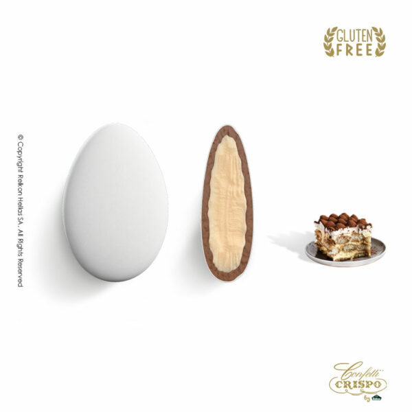GLUTEN FREE ciocopassion, διπλή σοκολάτα λευκή και γάλακτος, γεύση Tiramisu.Ιδανικό για γάμους, βαπτίσεις και candy bar.