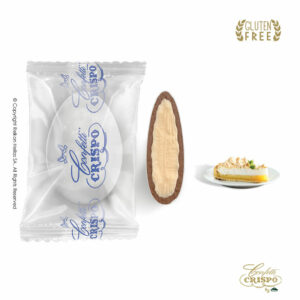 GLUTEN FREE Safe pack ciocopassion διπλή σοκολάτα, πυρήνας λευκής και επικάλυψη γάλακτος, με λεπτή επίστρωση ζάχαρης και γεύση Κρέμα Λεμόνι. Ιδανικά για γάμο, βάπτηση, candy bar και events.