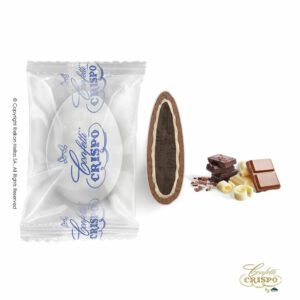 GLUTEN FREE Safe pack ciocopassion τριπλή σοκολάτα, bitter και λευκής σοκολάτας με επικάλυψη σοκολάτας γάλακτος, με λεπτή επίστρωση ζάχαρης. Ιδανικά για γάμο, βάπτηση, candy bar και events.