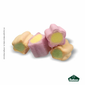 Marshmallows Flowers. Ιδανικά για παιδικά party, βάπτιση και events.