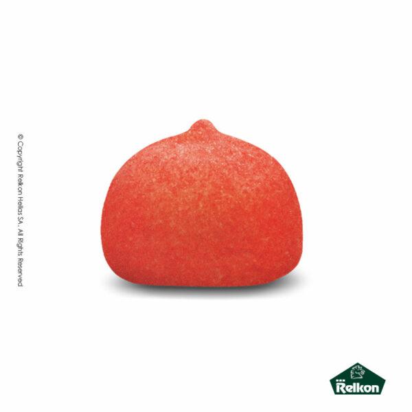 Marshmallows σε σχήμα μπάλας και σε χρώμα κόκκινο. Ιδανικά για παιδικά party, βάπτιση και events.