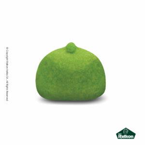 Marshmallows σε σχήμα μπάλας και σε χρώμα πράσινο. Ιδανικά για παιδικά party, βάπτιση και events.