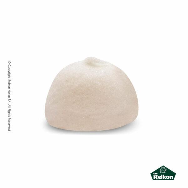 Marshmallows σε σχήμα μπάλας και χρώμα λευκό. Ιδανικά για παιδικά party, βάπτιση και events.