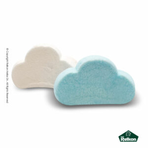 Marshmallows σε σχήμα σύννεφου και χρώμα σιέλ και λευκό (mix). Ιδανικά για παιδικά party, βάπτιση και events.