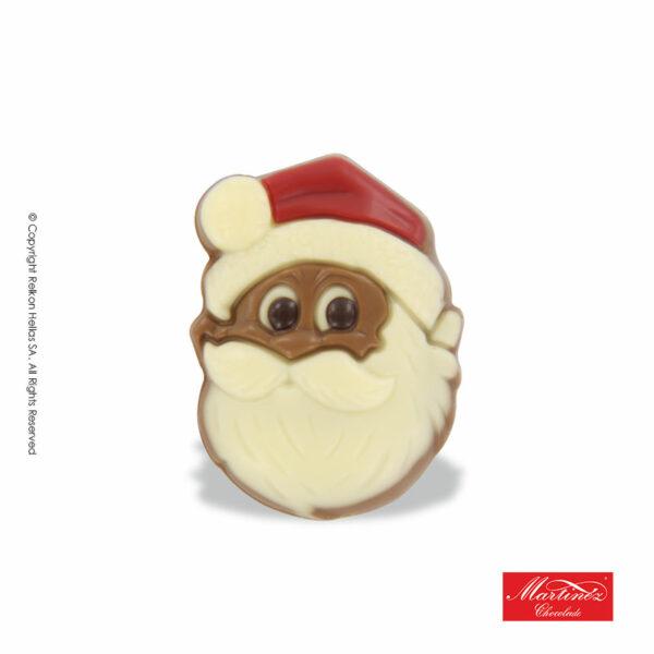Martinez φιγούρα απο σοκολάτα γάλακτος σε σχήμα Αγ.Βασίλη. Ιδανικό για τα Χριστούγεννα.