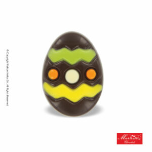 Martinez φιγούρα απο σοκολάτα υγείας σε σχέδιο πασχαλινό αυγό. Ιδανικό για το Πάσχα.