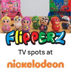 Relkon ιστορία, TV spots για τα Flipperz PJ Masks & Flipperz Princess Sweeties.