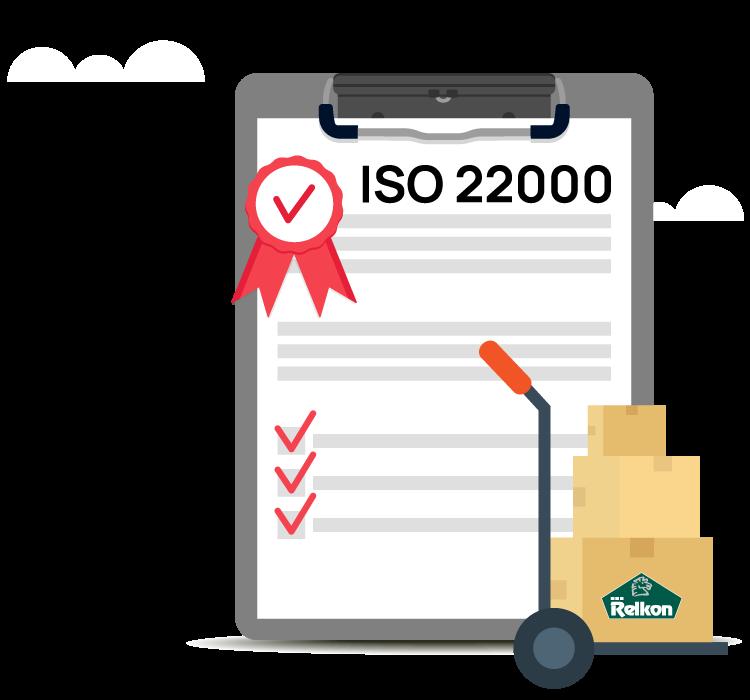Πιστοποίηση ISO 22000 Εξασφαλίστε τη μέγιστη ασφάλεια για τις αγορές σας