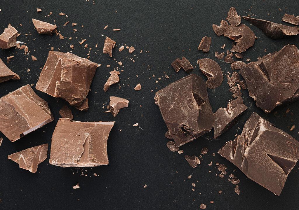 Σοκολάτα υγείας και Σοκολάτα γάλακτος